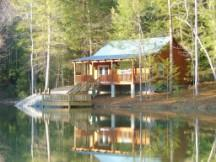 Cabin at the Pond