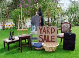 28th Annual Rollercoaster Yard Sale